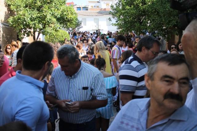 Los padres y madres del colegio de Nueva Carteya seguirán protestado para que se cumpla la ratio establecida por ley y se autorice la tercera unidad