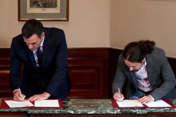 acuerdo PSOE Unidas Podemos