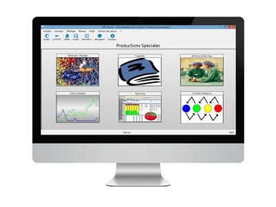 SPC Vision est un logiciel SPC pour le contrôle qualité, exemple pour molnlycke