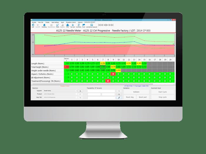 Ctrl Vision, logiciel de contrôle réception pour l'acceptation des lots fournisseurs