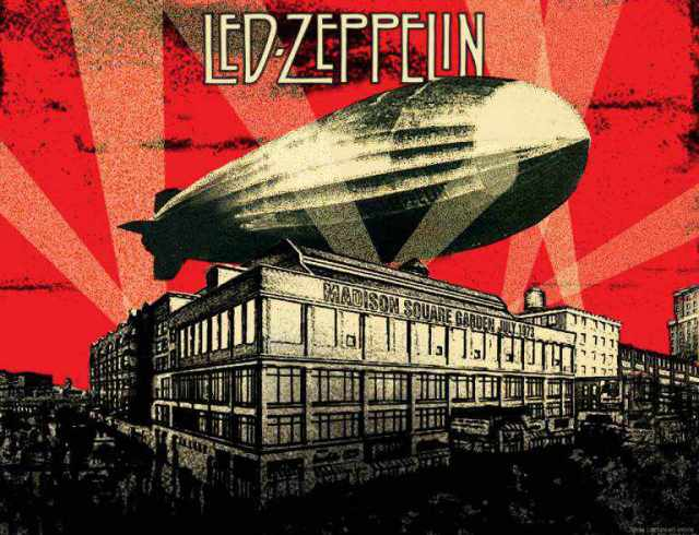 Led zeppelin madison square garden july 1973