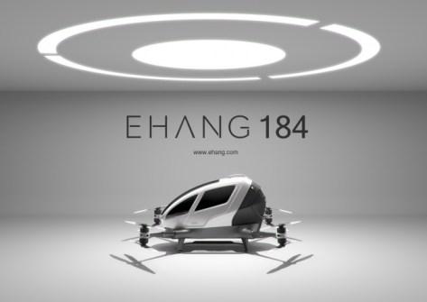 Drone Ehang 184 pic