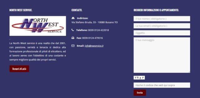 North West Service contatti_NWS_corsi