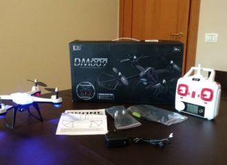 recensione Dm009 conqueror-stile-radiocomando-unboxing-camera.led