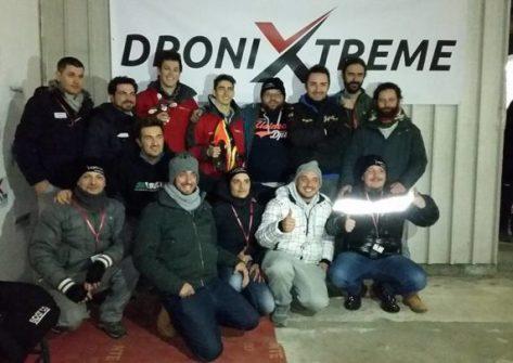 DroniXtreme Club-drone-racing-fpv-giuseppe rinaldi-bramofpv-circuito-droni-caluso-badside84-area pubblico-finale