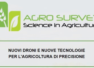 agro survey-science in agricolture-droni per agricoltura di precisione