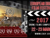 logo european drone film festival-barcellona-eventi droni 2017-concorsi droni-festival barcellona-contatti