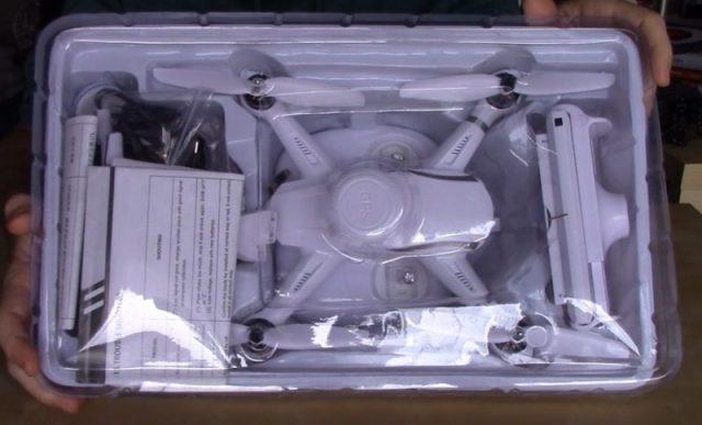 Unboxing AoSenMa CGO35 Drone con funzione GPS e Camera in HD