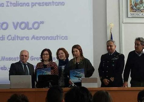 io volo-Liceo Giuseppe Moscati-corso areonautico