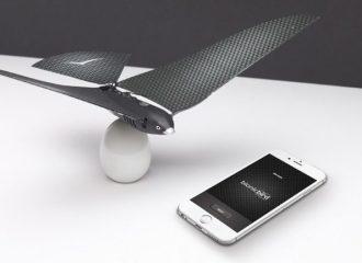 recensione bionic bird drone-drone a forma di uccello-drone volatile-unboxin bionic bird-confezione