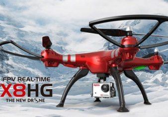 recensione syma x8hg gearbest-camera 8mp-radiocomando-funzioni-gopro