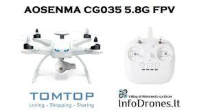 coupon Aosenma cg035 5.8G FPV tomtop-sconto droni tomtop