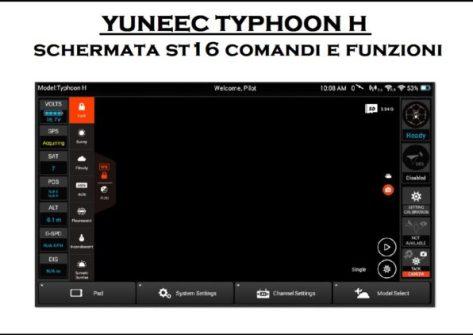 schermata st16 comandi e funzioni typhoon h-come funziona radio typhoon h-comandi st16-come funziona radio st16