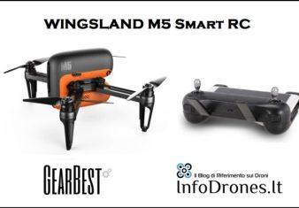 recensione wingsland m5 smart rc gearbest