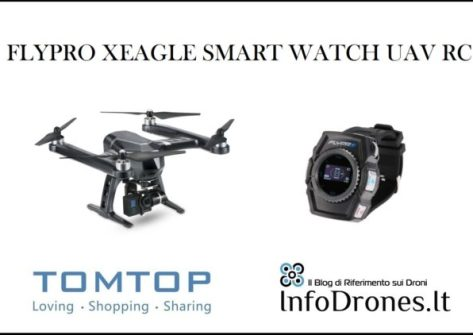 recensione FLYPRO XEagle Smart Watch uav rc-drone orologio-tomtop coupon