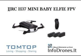 recensione jjrc h37 mini baby elfie-selfie drone economico tomtotp