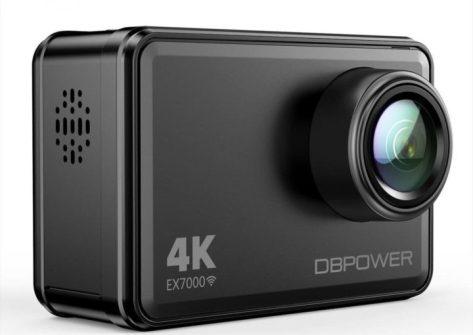 recensione DBPOWER EX7000 Action Cam 4K
