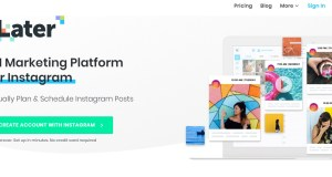 Later app instagram programma post da pc