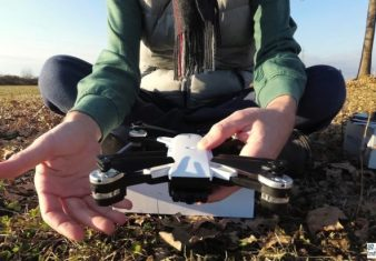 recensione YH-19HW gearbest-drone clone dji spark-coupon