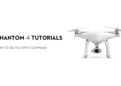 Come eseguire il Tap Fly nel DJI Phantom 4