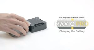 Tutorial caricare batterie drone DJI Mavic Pro