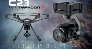 Yuneec camera c23 typhoon H plus