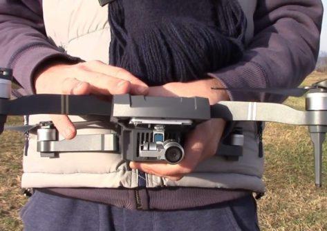 test Cfly Obtain gearbest drone clone mavic