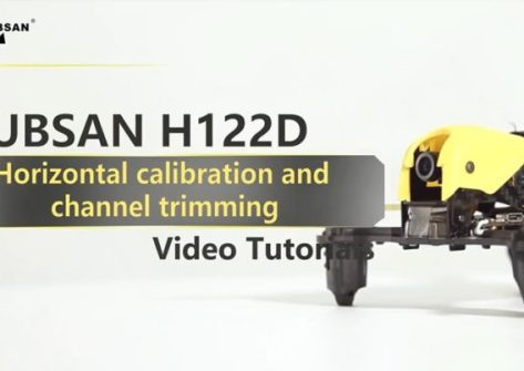 Come calibrare il drone Hubsan H122D