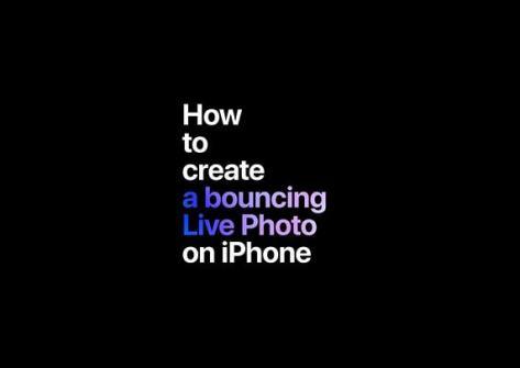Come creare una Bouncing Live Photo con iPhone