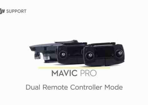 Doppio controllo DJI Mavic Pro