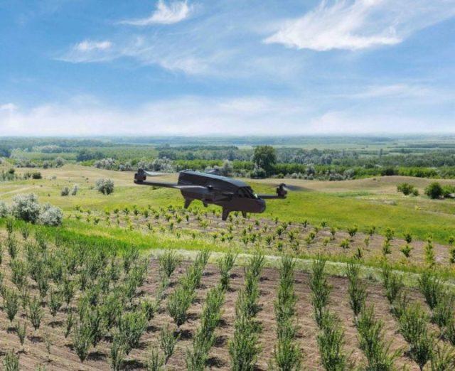 Parrot Bluegrass_drone per l'agricoltura
