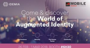 idemia mobile world congress barcellona 2018