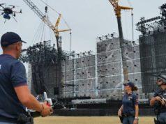 roma drone campus polizia droni