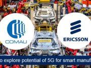 Ericsson Comau e Tim 5G