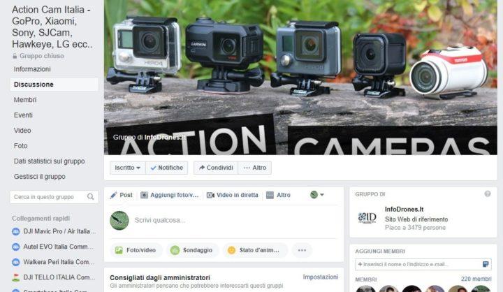 forum-action-cam-facebook-gruppo-facebook-action-cam