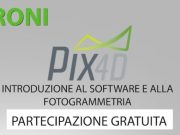 corso fotogrammetria con pix4d idroni torino