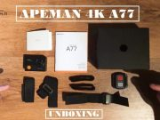 video Apeman 4k a77 youtube