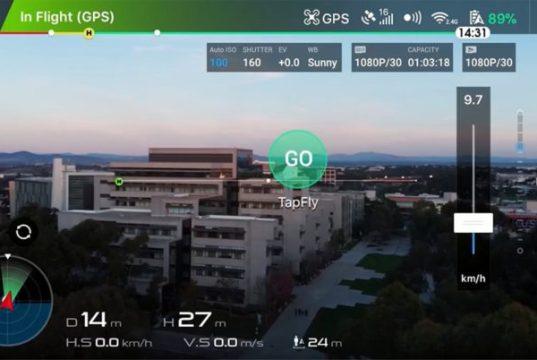 DJI Mavic Air Tap Fly