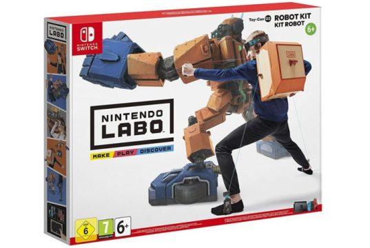 Nintendo Labo: Toy-Con 02 - Kit Robot