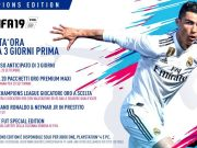 Fifa 19 Champions Edition su amazon pre order
