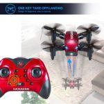 mini drone pieghevole Hasakee funzioni