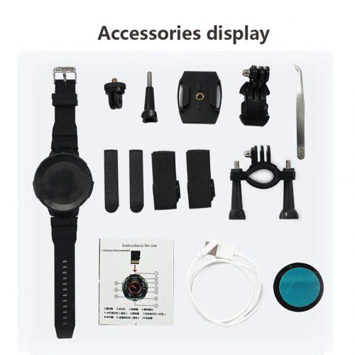 HJYQ Action Camera confezione