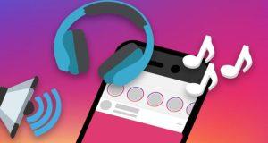Instagram adesivo musica