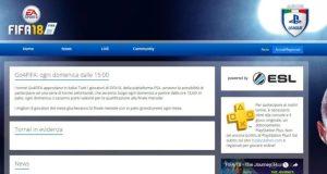 PlayStation Italian League FIFA 18