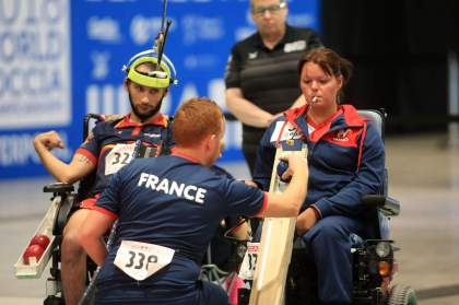 champion on the Tokyo Paralympic Video games