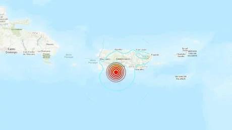 Puerto Rico sufre una serie de sismos de hasta 5,5 de magnitud