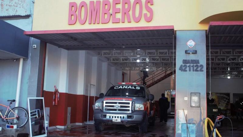Canals: el ejecutivo otorgó un subsidio, a Bomberos Voluntarios.