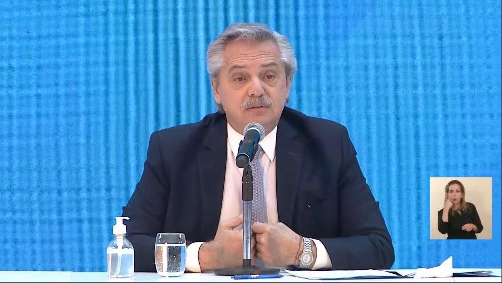 """Fernández: """"A partir de abril, América Latina comenzará a tener las vacunas necesarias"""""""