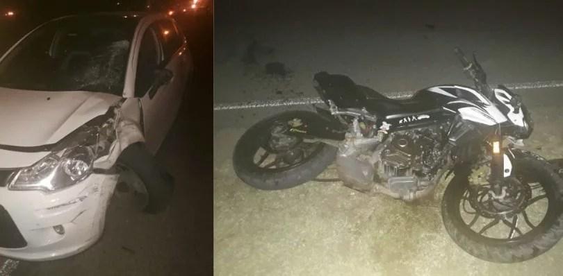 Rufino: un joven falleció en un accidente, entre una moto y un auto