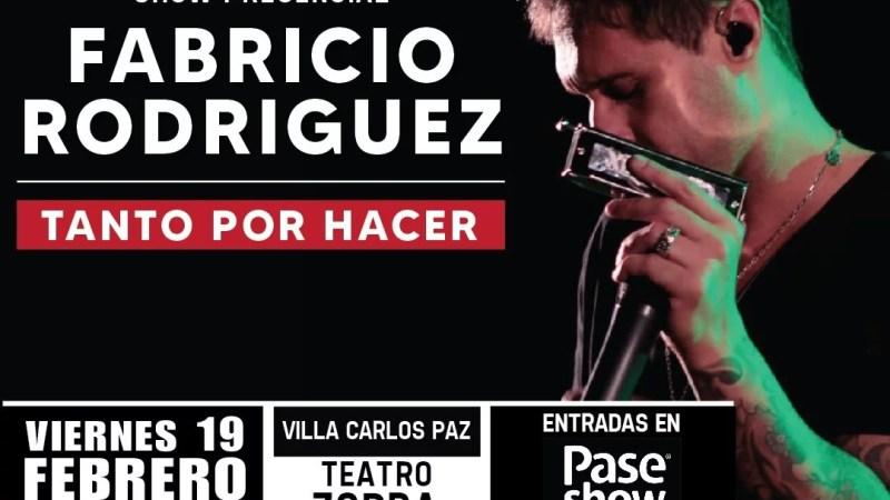 """Fabricio Rodríguez en concierto: """"TANTO POR HACER"""""""